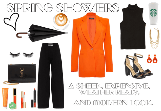 Sheek Spring Shower Outfit