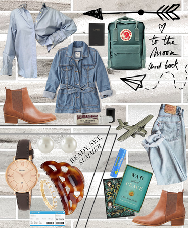 Casual Comfy Chic - Airport Style