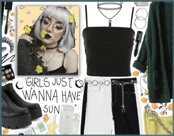 Girls just wanna have sun: Modern Grunge