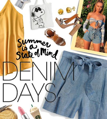 Denim Shorts Days