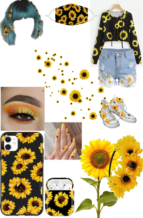 it's as yellow as the sun sunflower 🌻