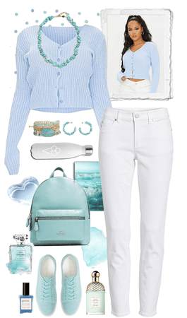Baby Blue and Seafoam