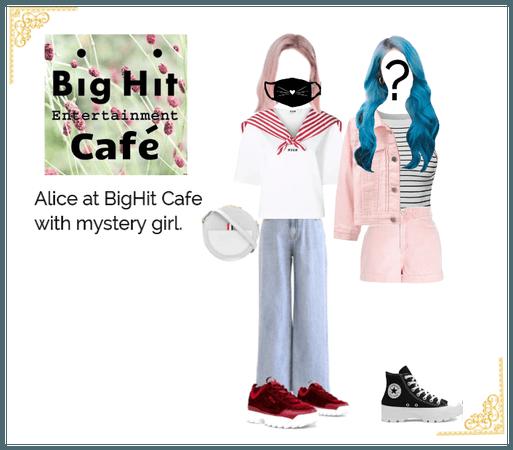 Alice at BigHit Cafe