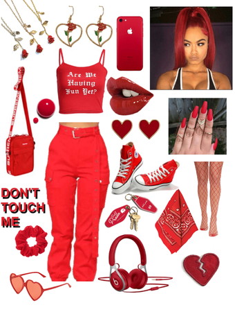 dreaming red outfit