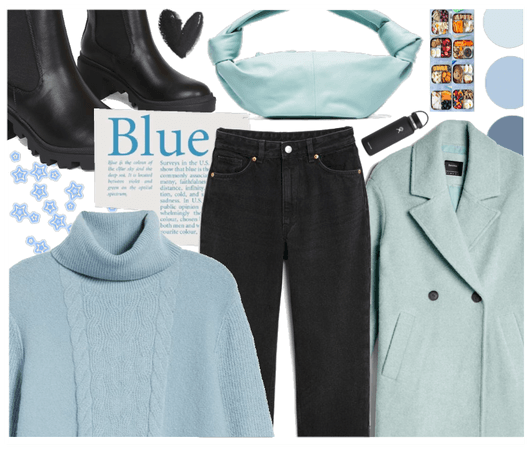 b is for blue