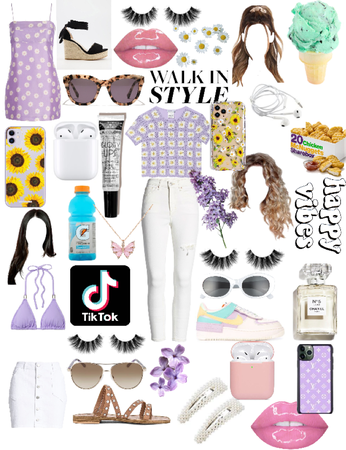 Purple Spring Outfits 💜💐