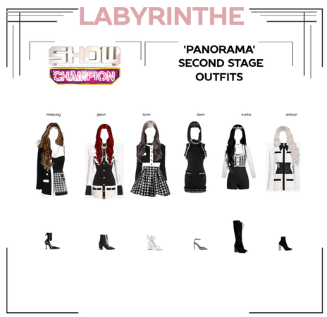 LABYRINTHE PANORAMA second stage outfits