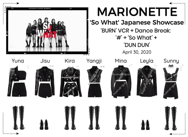 MARIONETTE (마리오네트) 'So What' Japanese Showcase