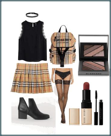 Golden Schoolgirl