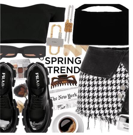 Trend Spring Skirt