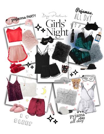 Pajama party 🖤💋