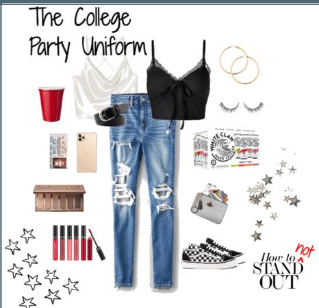 the college party uniform