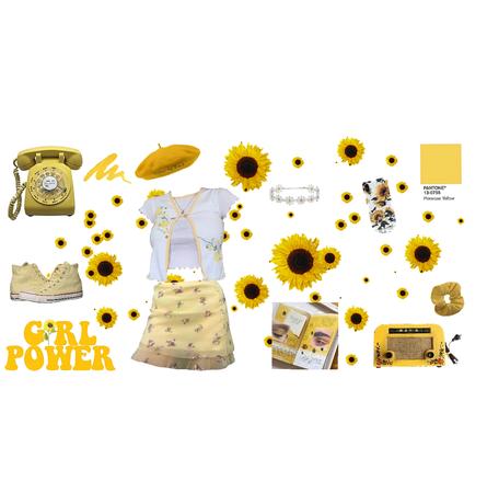Sunflower girl🌻