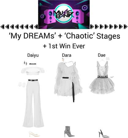 {3D} 'Chaotic' Music Bank Stage + 1st Win Ever