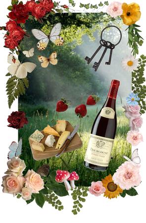 cottagecore picnic
