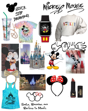Disney world and Mickey Mouse