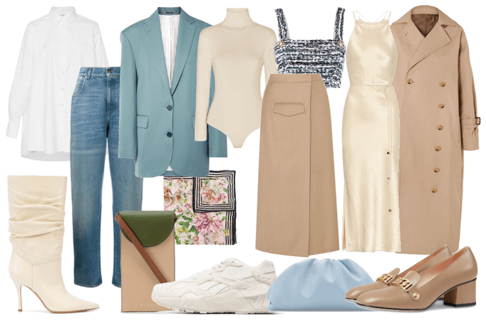 Capsule wardrobe for spring