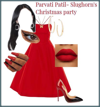 Parvati Patil- Slughorn's Christmas Party