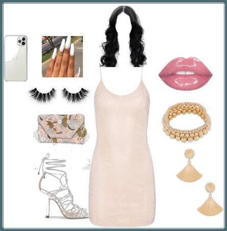 Pink dress up
