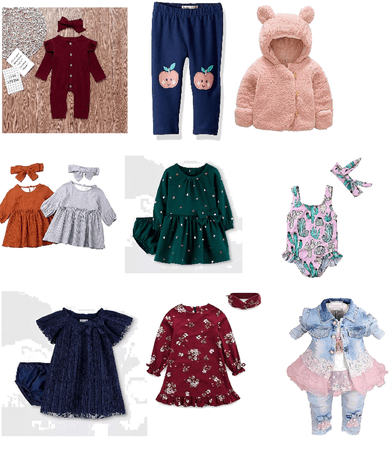 Cute baby out fit clothes