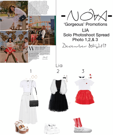 -NOVA- Lia Solo Photoshoot Outfits
