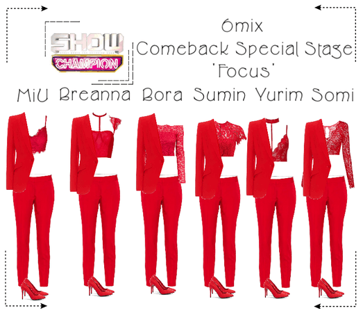 《6mix》Show Champion Comeback Special Stage