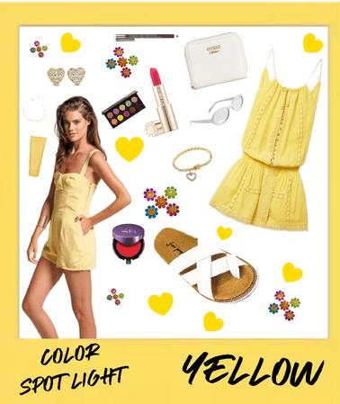 Yellow/White/Pink Combo