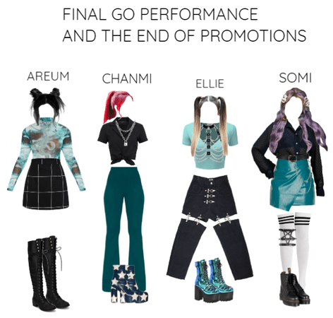 [ACES] Go goodbye stage + End of promotions