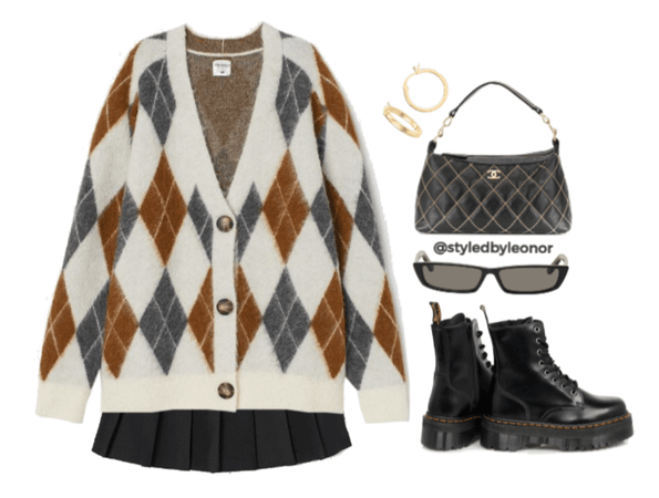 Grunge School Girl Outfit