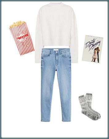 National Popcorn Day - Movie Night