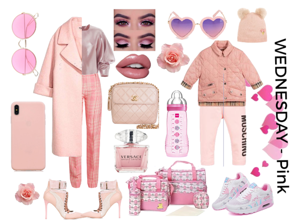 mum&daughter (Monochromatic outfits - PINK prt1)