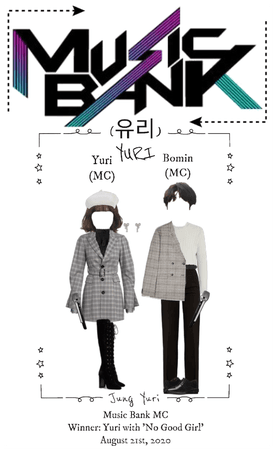 Yuri & Bomin Music Bank MCs
