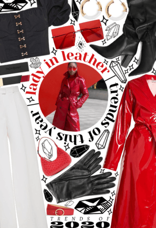 2020 TRENDS: Lady in Leather
