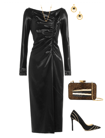 Date night look for the elegance