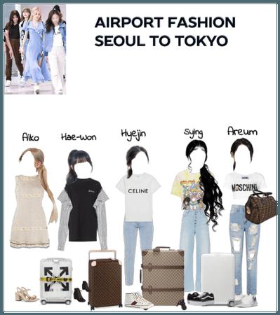 Airport Fashion (Seoul To Tokyo)
