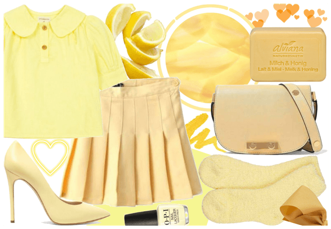 Soft in Yellow Pastel - everyday look