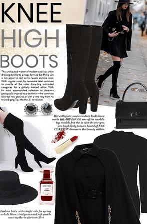 Basic black boots 👢