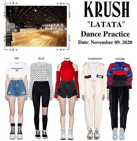 "KRUSH ""Latata"" Dance Practice"