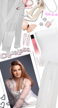 Clueless White Party Outfit