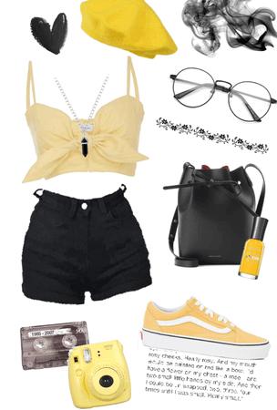 Yellow&Black 💛🖤