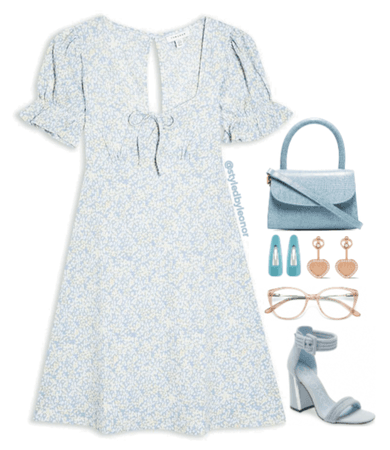 Girly Picnic Date Vintage Look