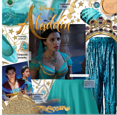 Jasmine movie inspired costume