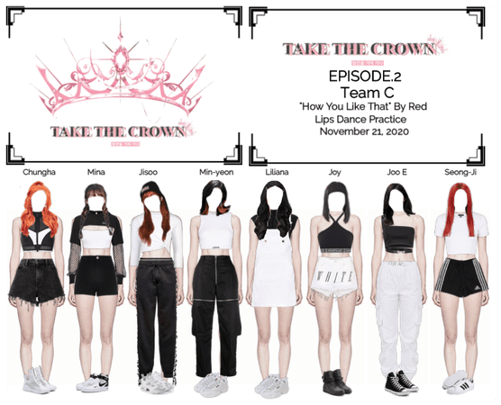 """Take The Crown"" Ep.2 [Team C] Dance Practice"
