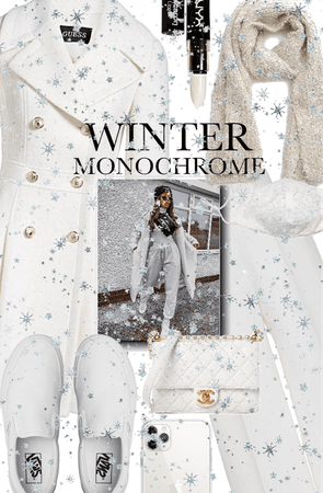 Snowy white Monochrome
