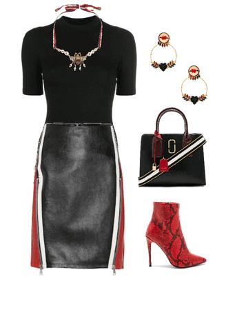 Red & Black Glam