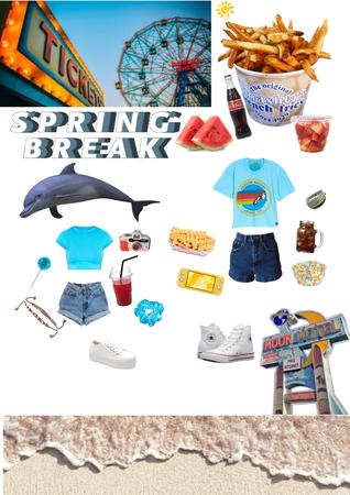 spring break : boardwalk