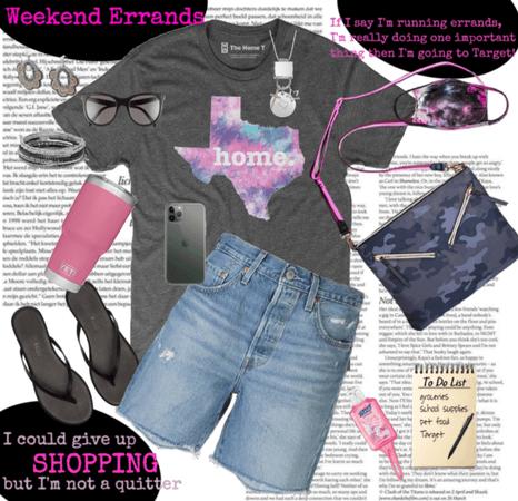 Weekend Errands