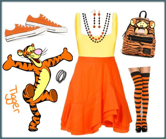 Tigger outfit - Disneybounding - Disney
