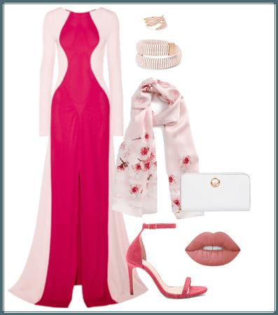 Prom/Formal Hijabi Look