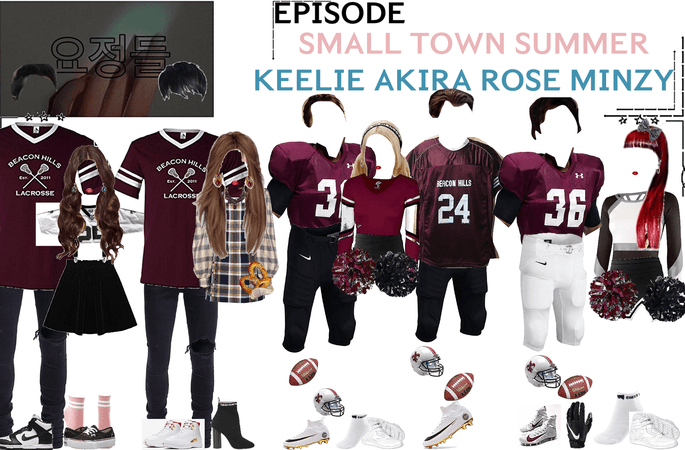 FAIRYTALE EPISODE 4: SMALL TOWN SUMMER | KEELIE & DEREK. ROSÉ & DAMON. AKIRA WADE & WILL. MINZY & STEFAN GAME SCENE